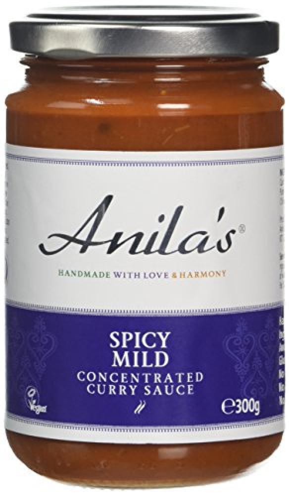 Anilas Spicy Mild Curry Sauce 300g