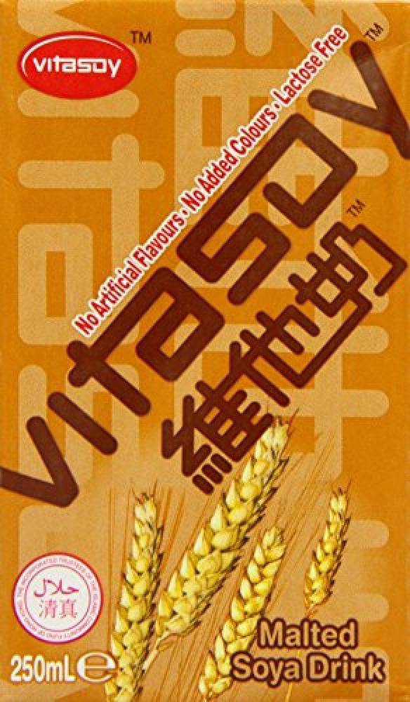 Vitasoy Malted Soya Drink 250ml