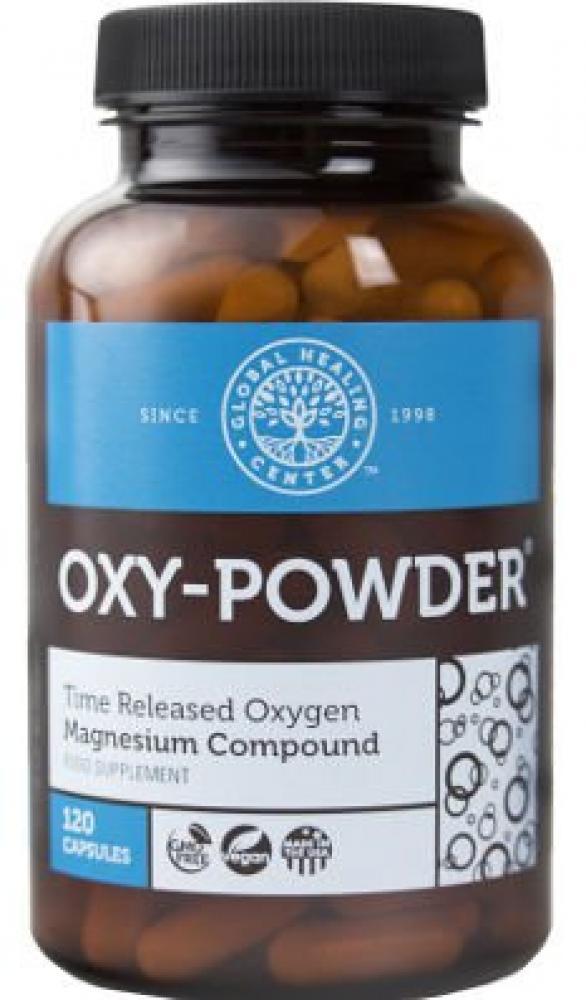Global Healing Center Oxy-Powder - 120 Vegetarian Capsules