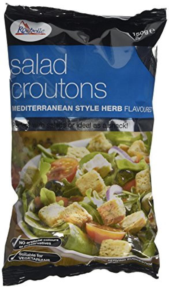 La Rochelle Mediterranean Herb Salad Croutons 150 g