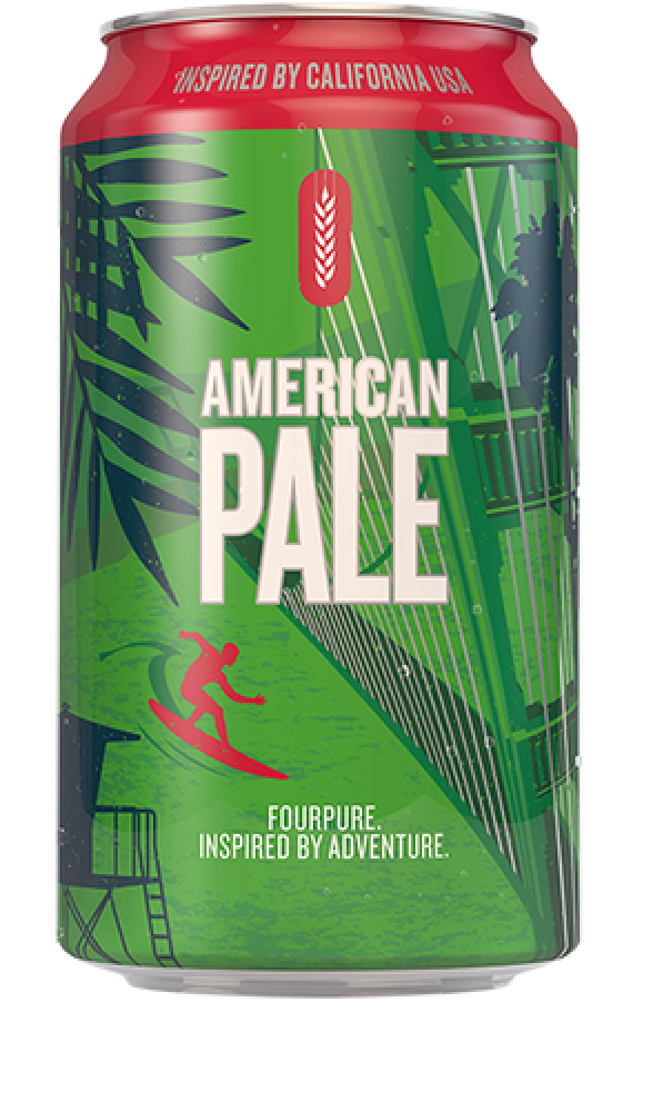 Fourpure Brewing Co American Pale Ale Beer Can 330 ml