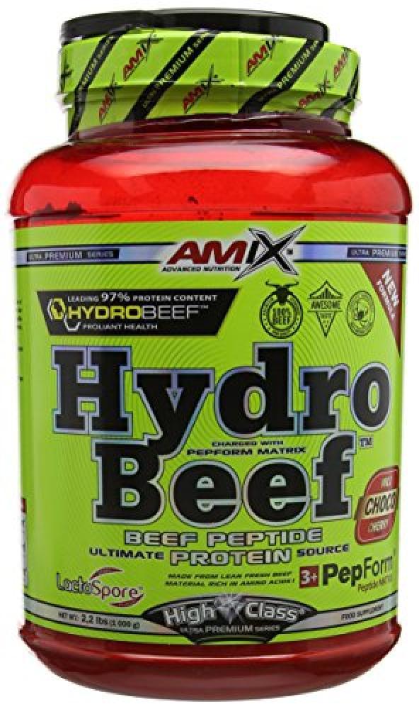 Amix Hydro BEEF Wild Chocolate Cherry High Class Protein Supplement 1000g