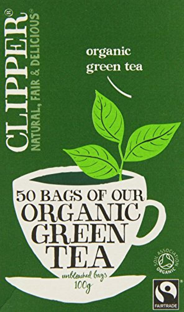 Clipper Organic Fairtrade Green 50 Teabags