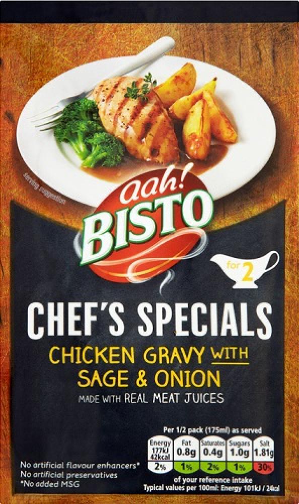 Bisto Chefs Specials Chicken Gravy With Sage and Onion 25g