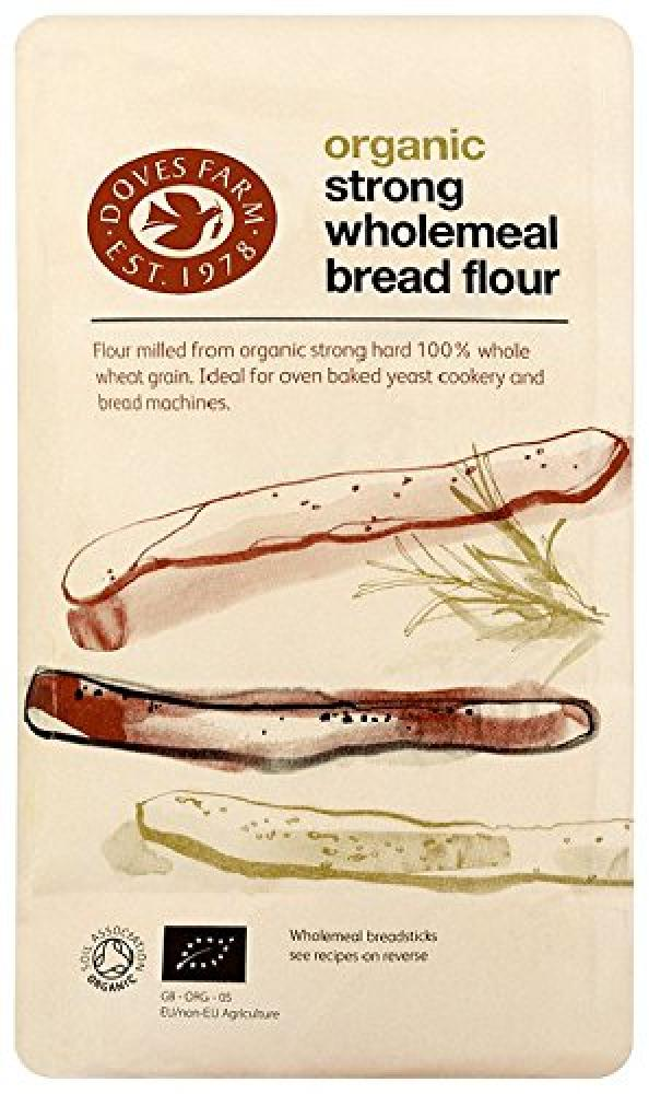 Doves Farm Organic Strong Wholemeal Bread Flour 1500g