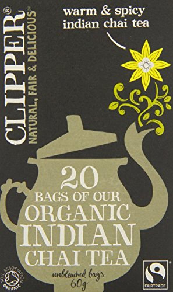 Clipper Organic Indian Chai 20 Teabags