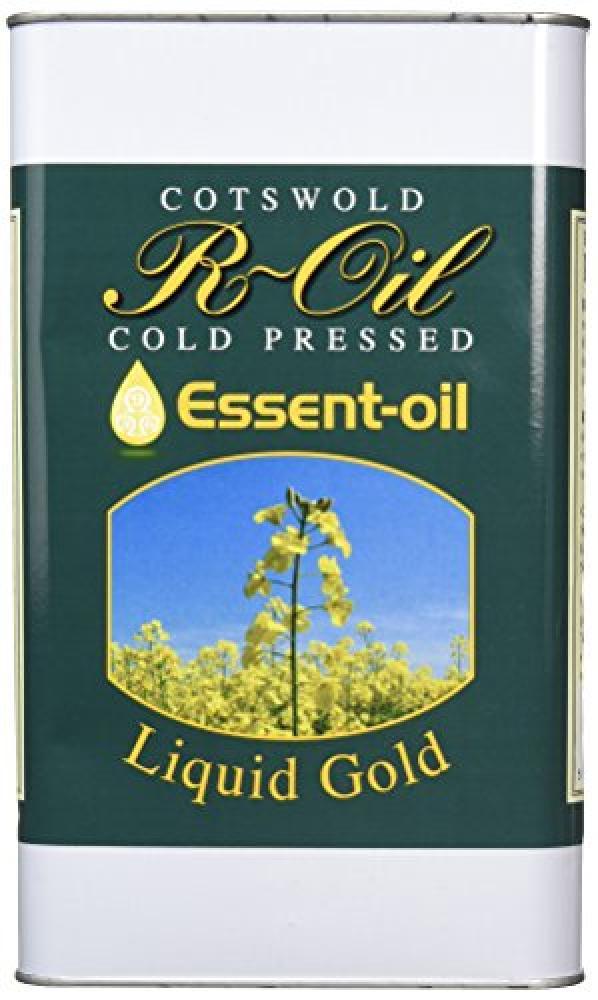 R Oil Cold Pressed Rape Seed Oil 5 Litre