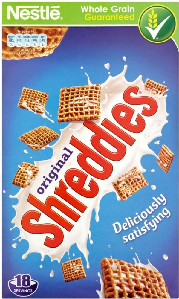 Nestle Original Shreddies 750g