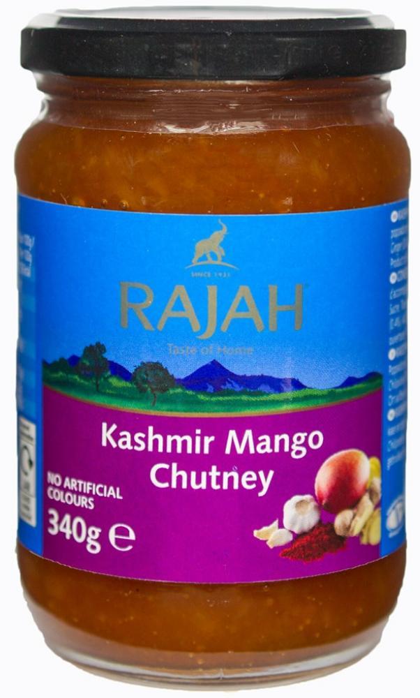 Rajah Kashmir Mango Chutney 340g