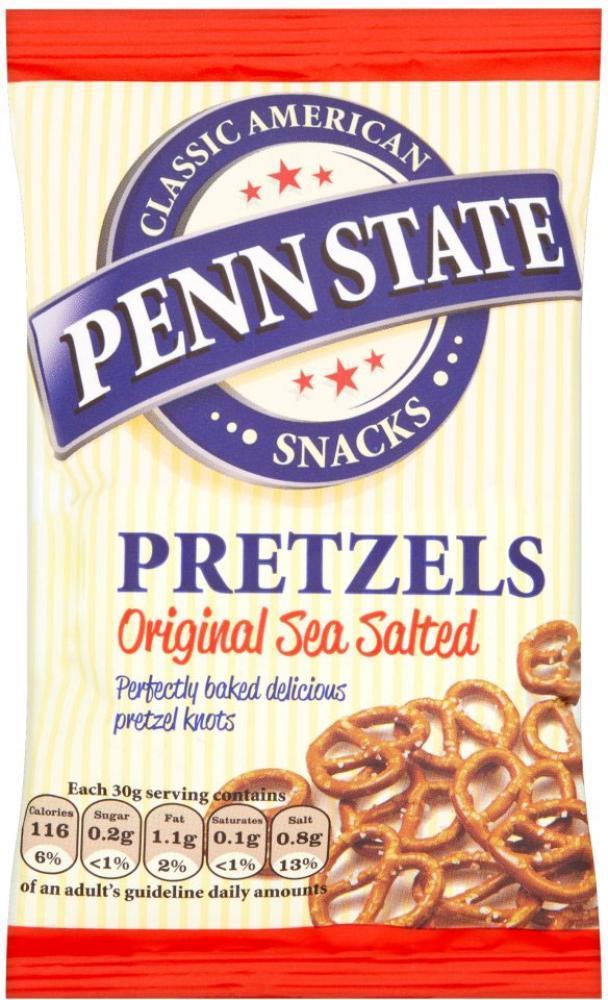Penn State Pretzels Original Sea Salted 30g