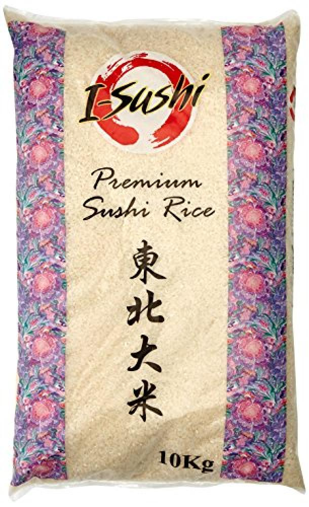 I Shushi Premium Sushi Rice 10 kg