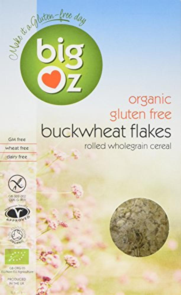 Big Oz Organic Buckwheat Flakes 500g