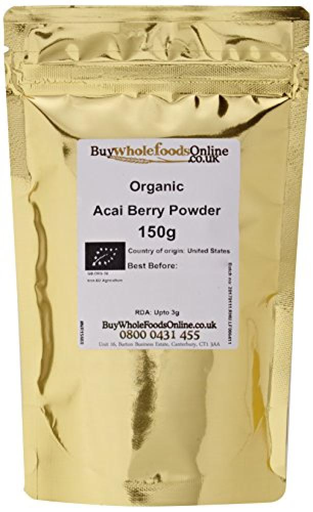 Buy Whole Foods Organic Acai Berry Powder 150 g