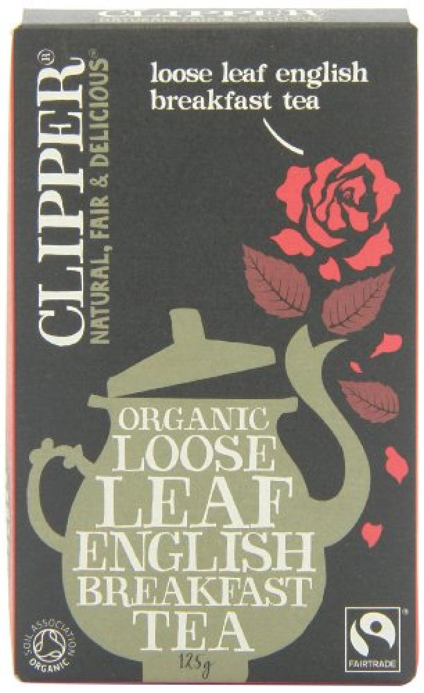 Clipper Fairtrade Organic Loose Leaf English Breakfast Tea 125 g