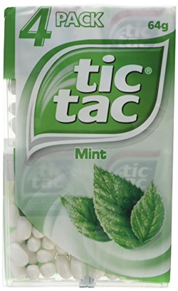 Tic Tac Fresh Mint 4x16g