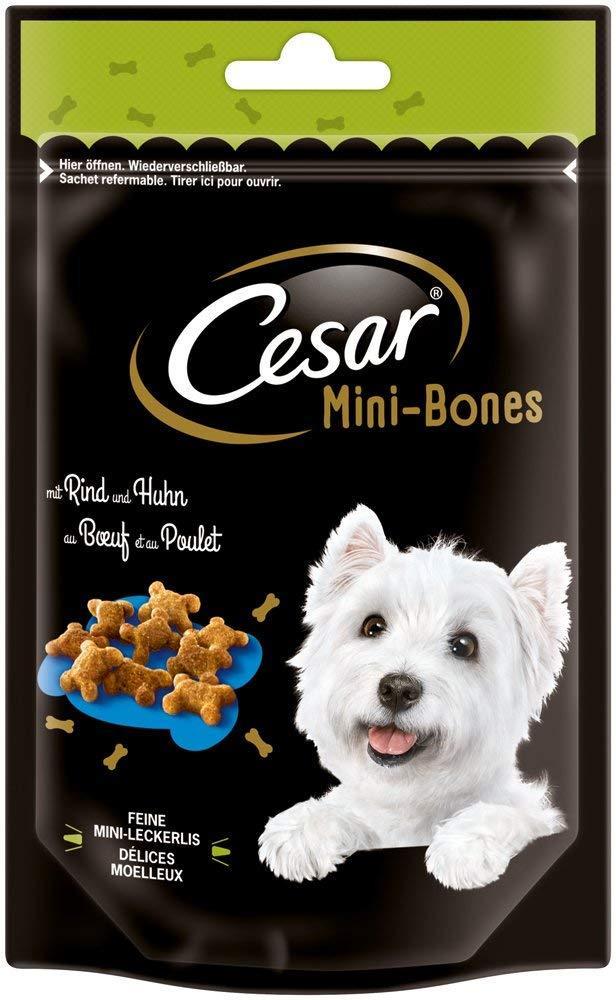 Cesar Beef and Chicken Dog Snack Mini Bones 75g