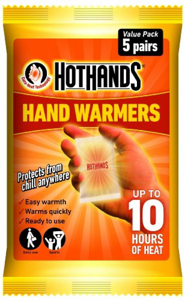 Hot Hands Hand Warmer Value Pack of 5 pairs