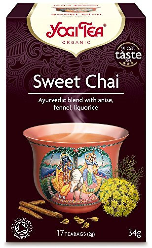Yogi Tea Sweet Chai 17Bags