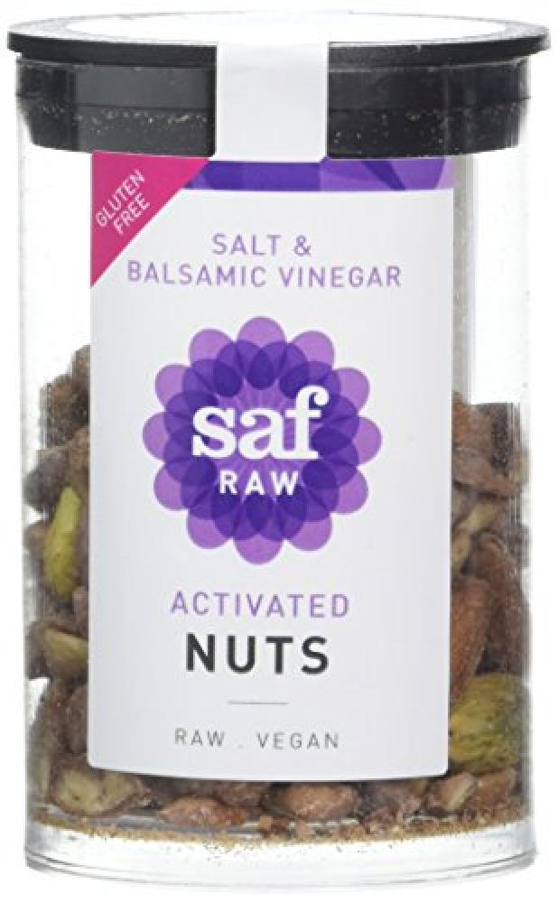 Saf Raw Salt and Balsamic Vinegar Activated Nuts 50 g