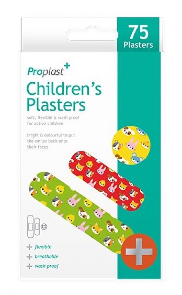 Proplast Childrens Plasters 75 pack