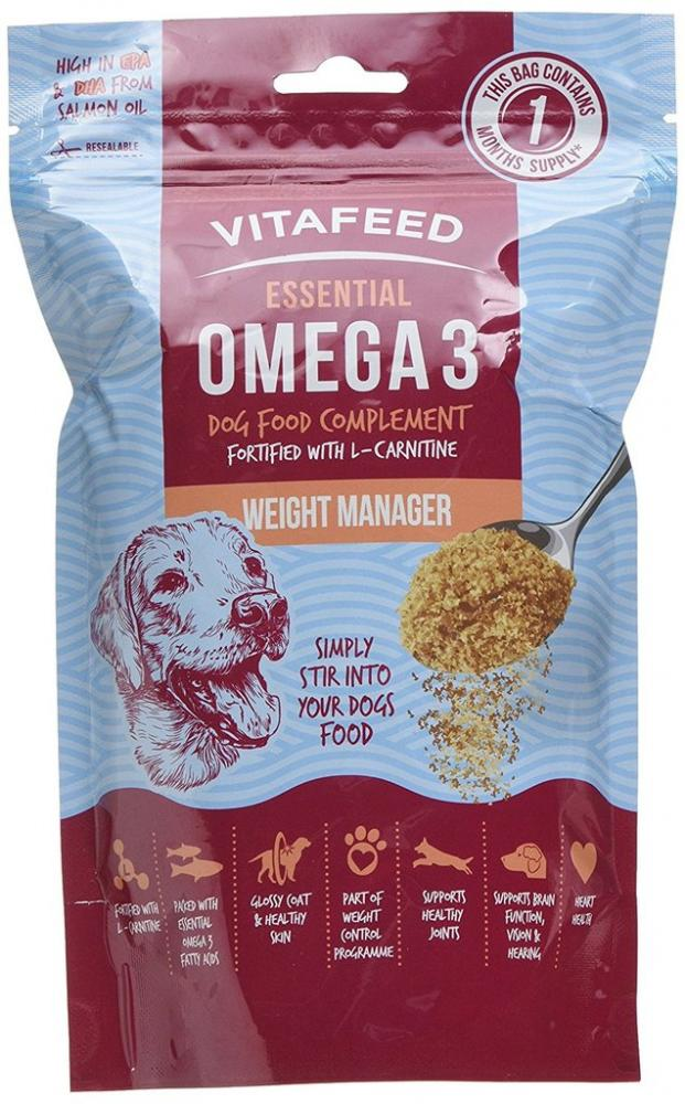 Vitafeed Omega 3 Dog Food Complement Weight Manager 225g