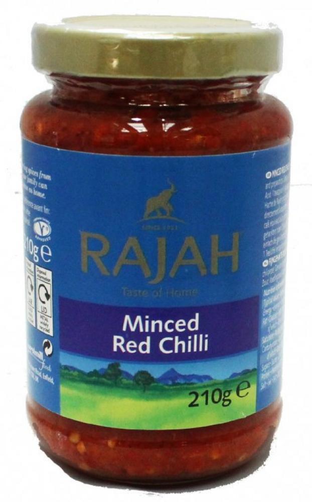 Rajah Minced Red Chilli 210g