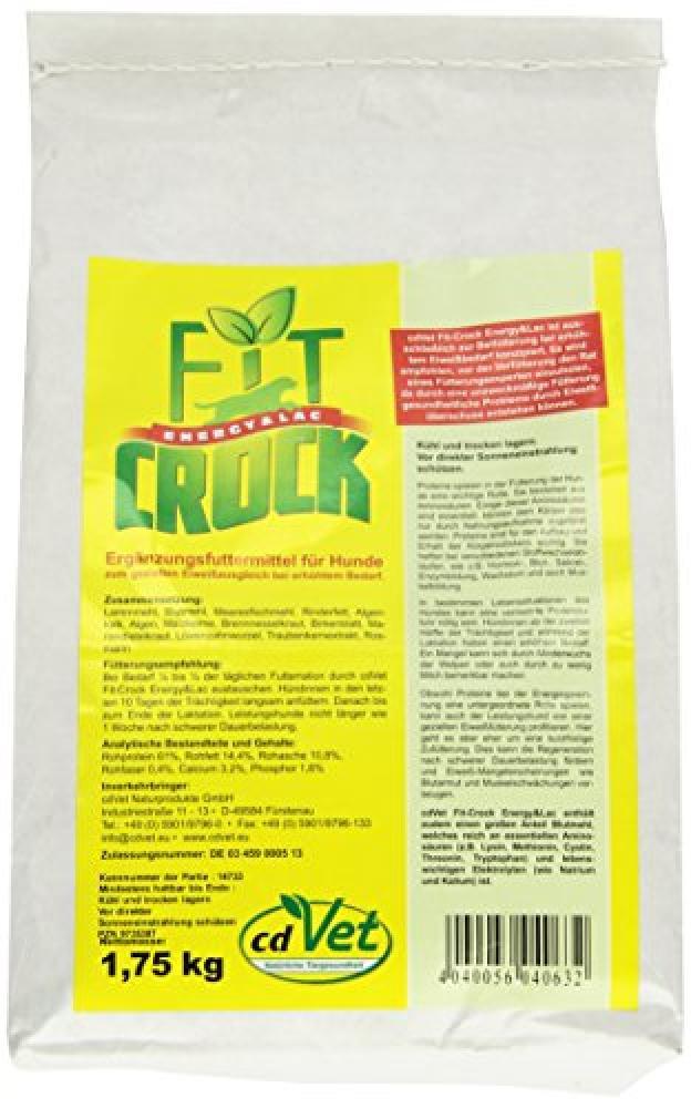 cdVet Fit-Crock Energy and Lac Dog Food 1.75kg