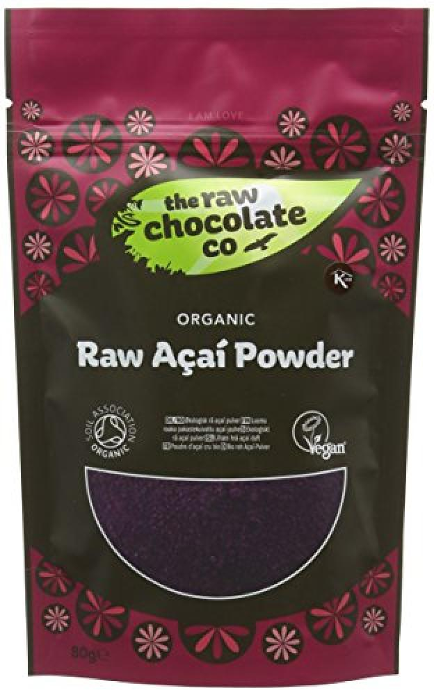 The Raw Chocolate Co Raw Acai Powder 80g
