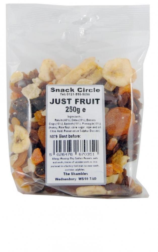 Snack Circle Just Fruit 250g
