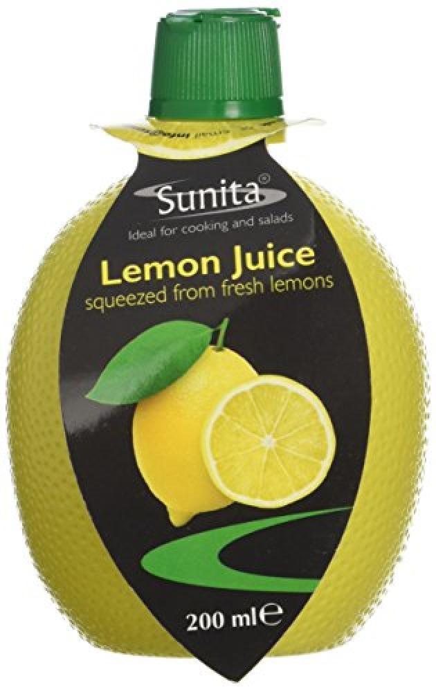 Sunita Lemon Juice 200ml