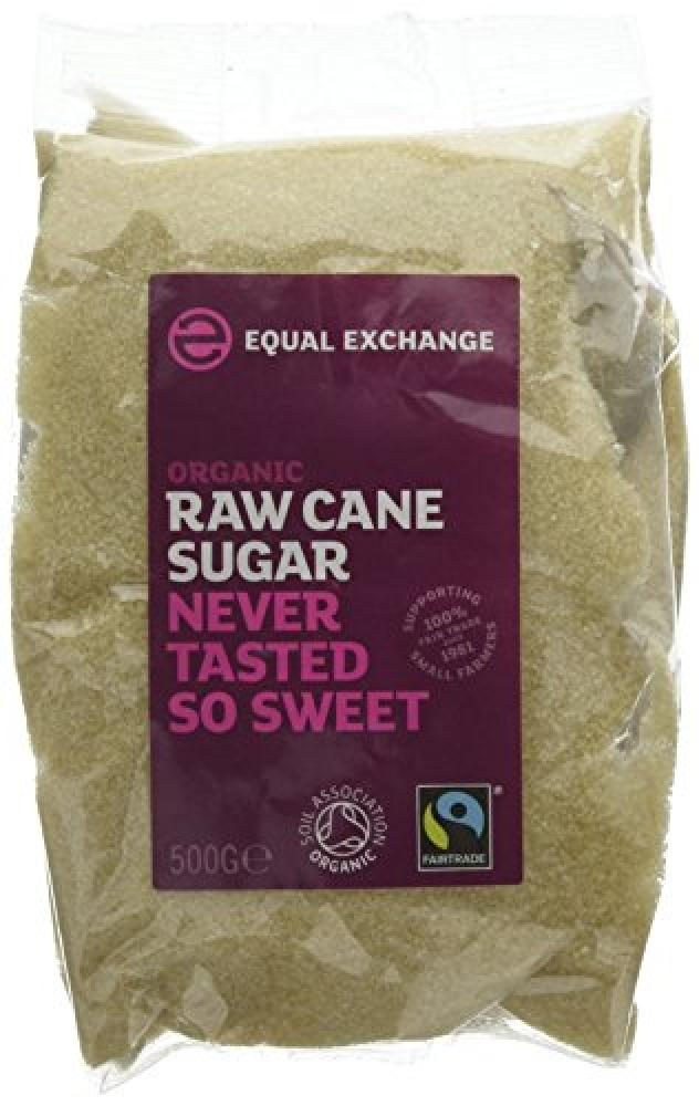 Equal Exchange Organic Raw Cane Sugar 500 g