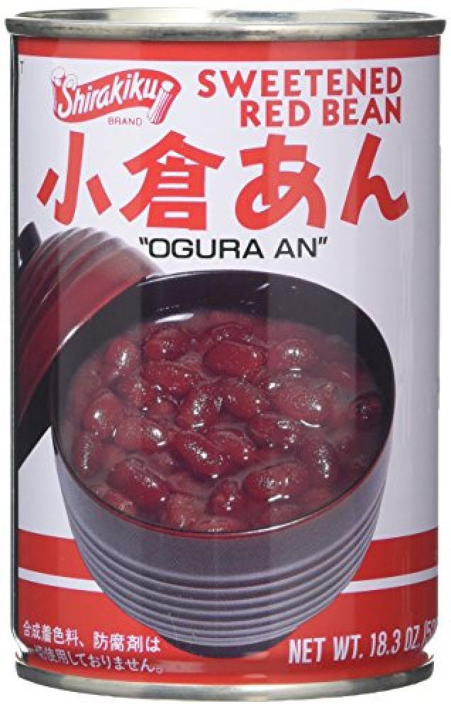 Shirakiku Sweetened Red Bean 520g