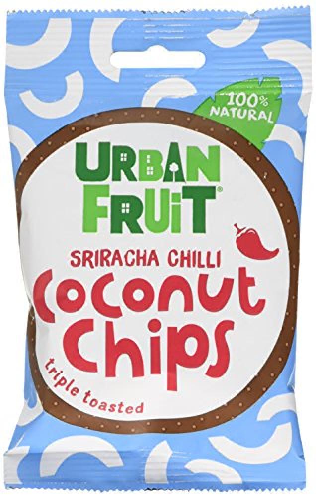 Urban Fruit Coconut Chips Sriracha Chilli 25g