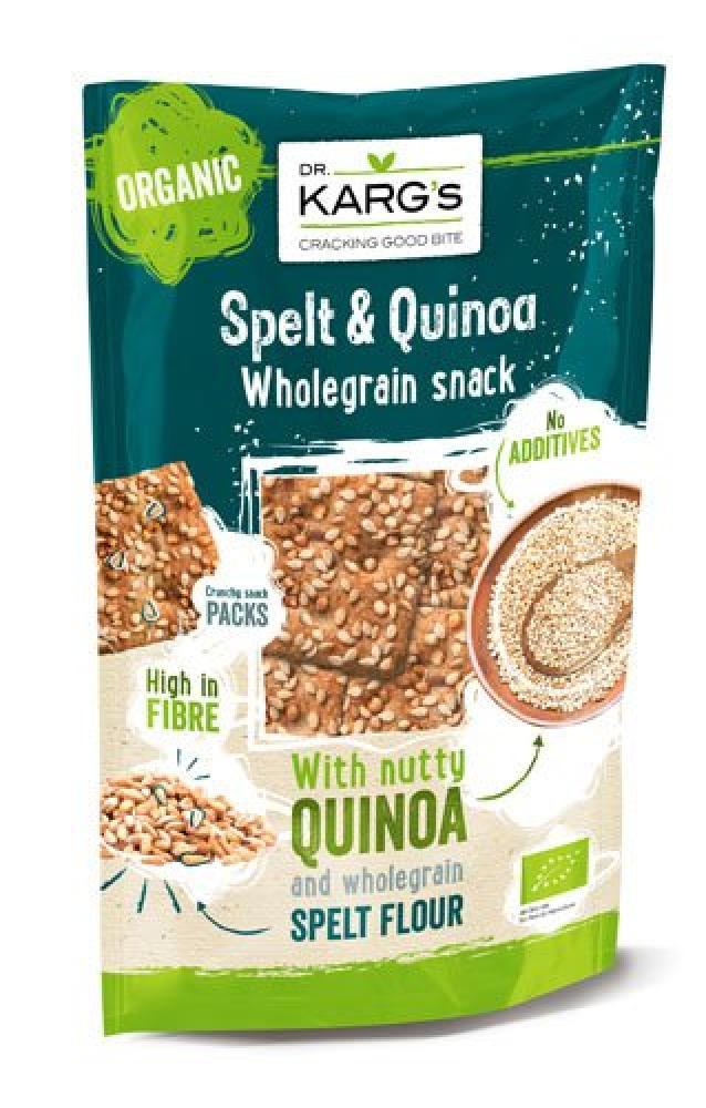 Dr Karg Spelt and Quinoa Snack 110g