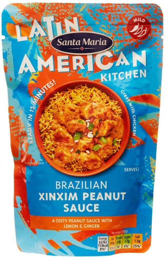 Santa Maria Brazilian Xinxim Peanut Sauce 200g