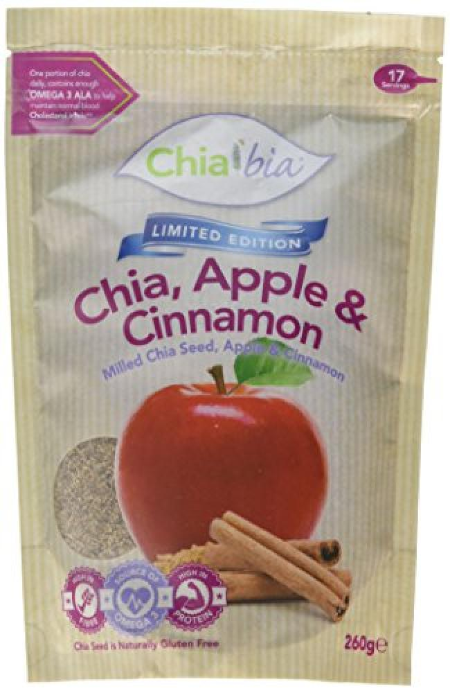 ChiaBia Milled Chia with Apple and Cinnamon 260g