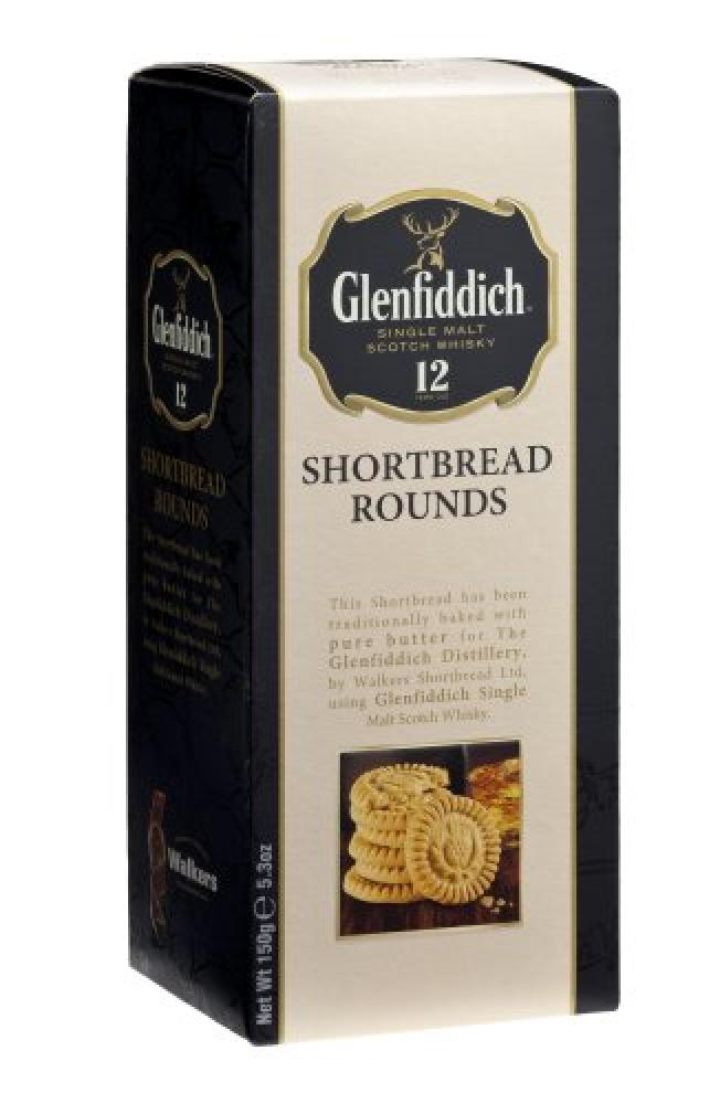 Walkers Glenfiddish Shortbread Rounds 150g