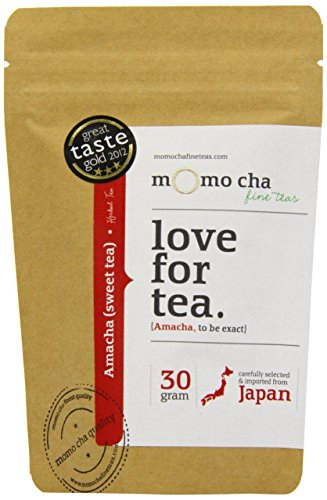 Momo Cha Fine Teas Amacha Award Winning Loose Leaf Herbal Infusion 30 g