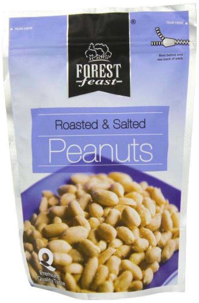 Forest Feast Roasted and Salted Peanuts 300g