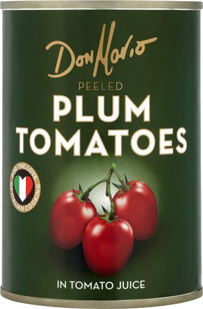 Don Mario Peeled Plum Tomatoes In Tomato Juice 400g