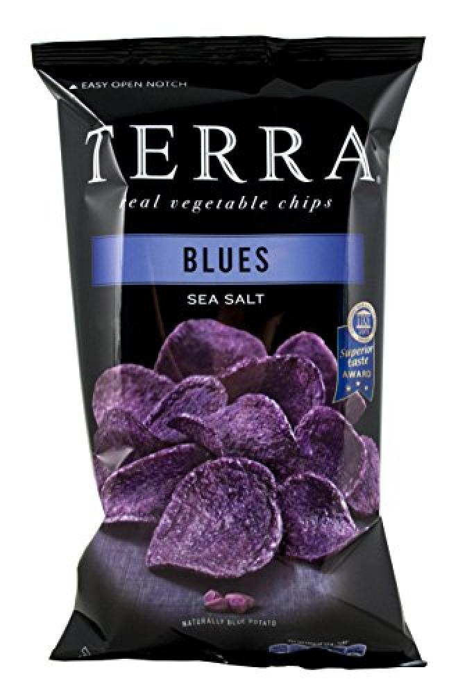 Terra Delyssa Blues Potato Chips 110 g