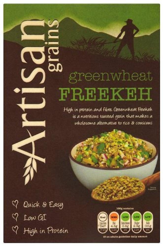 Artisan Grains Greenwheat Freekeh Grain 200 g