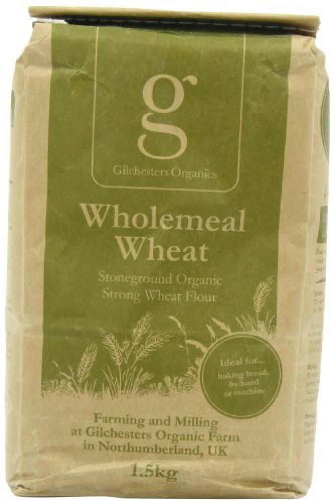 Gilchesters Organics Wholemeal Wheat Flour 1.5kg