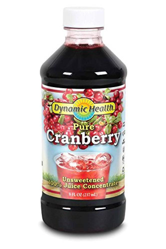 Dynamic Health Dynamic Health 237ml 100 Percent Pure Cranberry Juice Concentrate
