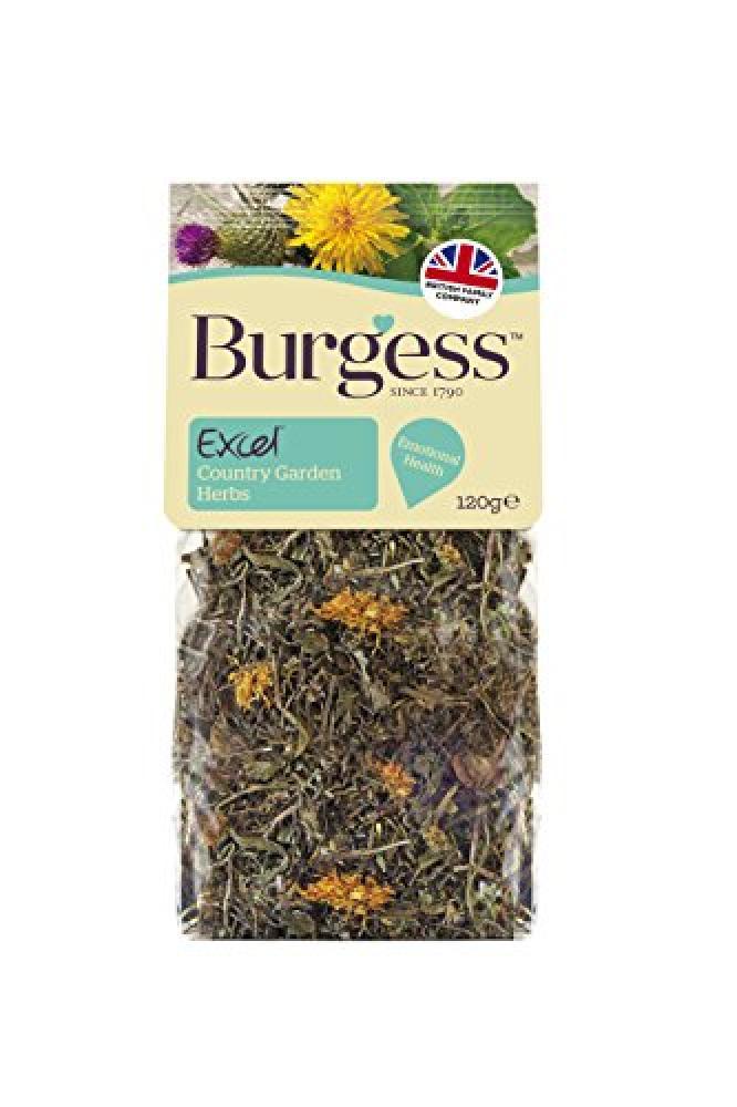 Burgess Excel Country Garden Herbs Snacks 120 g