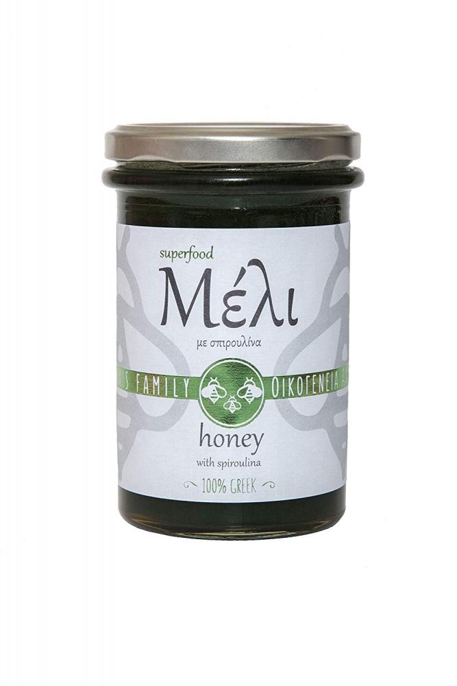 Alabasinis Family Greek Honey with Spirulina