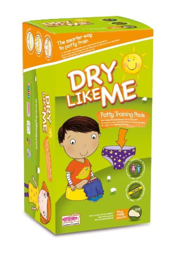 Dry Like Me Toilet Training Pads 18 pack