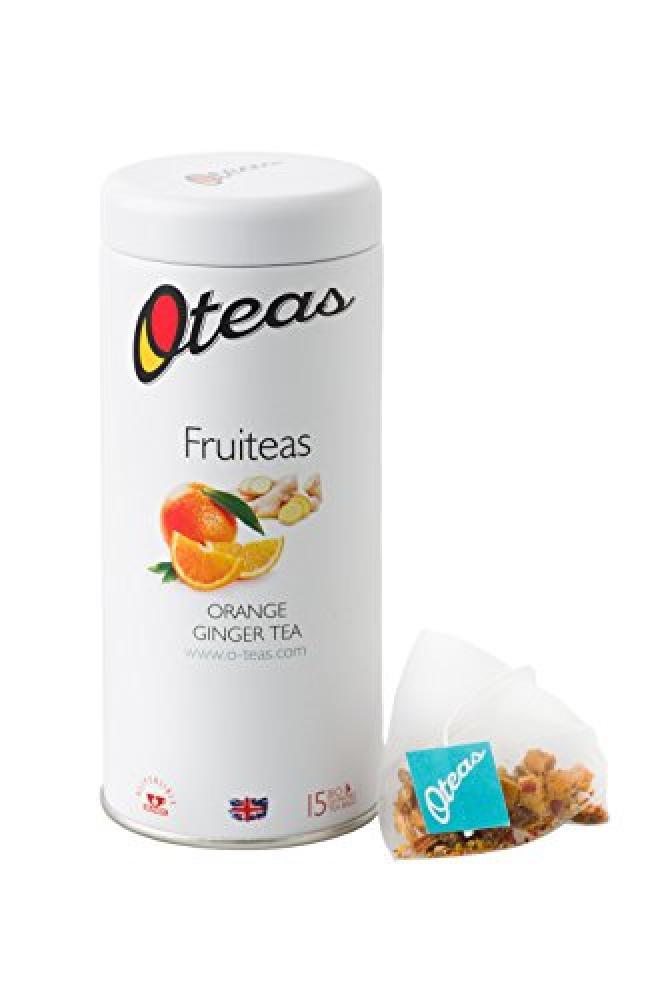 Oteas Fruiteas - Orange Ginger Tea 15 Teabags