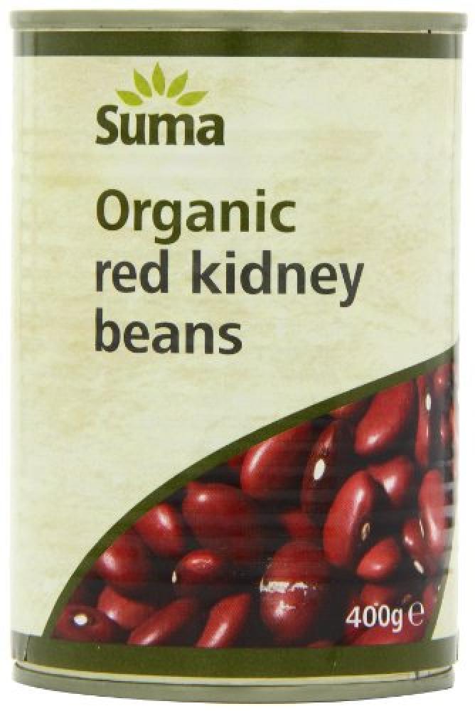 Suma Organic Red Kidney Beans 400g