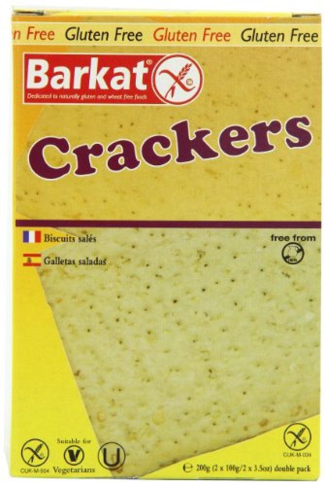 Barkat Gluten-Free Crackers 200 g